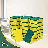 Esonmus Putzschwamm Küche 20 Stück Zweiseitig Reinigungsschwamm Fleckenentferner-Pad Für...