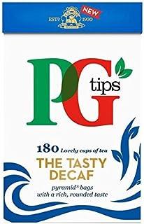 PG Tips Pyramid Decaf 160 Tea Bags 500g - entkoffeinierter Schwarztee