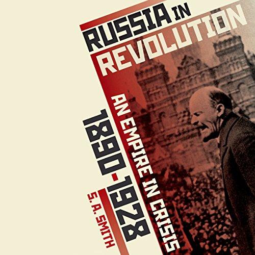 Russia in Revolution audiobook cover art