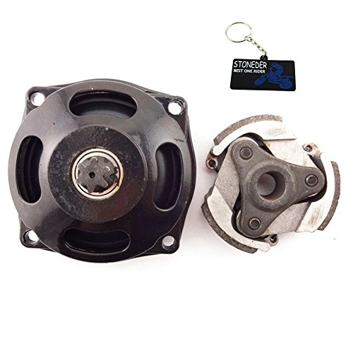 STONEDER Gear Box Tambour D'Embrayage sans Clé pour 47 49 CC Mini ATV Pocket Dirt Bike Moto
