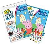 CRAYOLA 75–2295.0054Peppa Pig Color Wonder paraurti Confezione