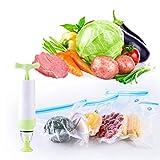 Liseng Sous-Vide Bags Kit de esenciales para cocina Anova, congelador y bolsas...