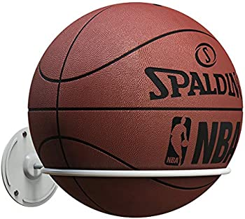 Kesito Single Ball Wall Mount Holder for Basketball/Volleyball/Soccer Ball