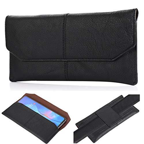 Clips para cinturón de teléfono para iPhone 12, 12 Pro Max, 11, 11 Pro Max, Xs Max, 8 Plus funda de piel auténtica de primera calidad