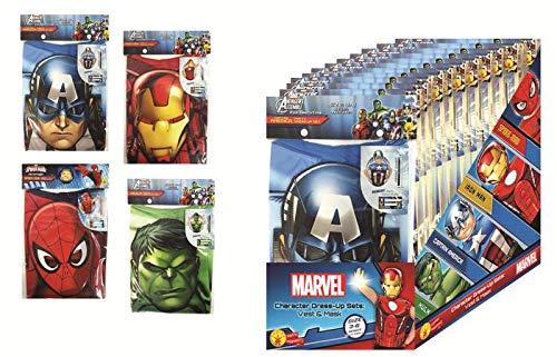 Rubie's- Assortiment Kits de Déguisement Marvel Enfant, AC5703, Bleu, Taille Unique