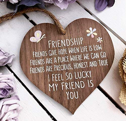 I'm Lucky My Friend Is You...