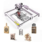 Laser Engraver, befon Laser Cutter for Wood, Compressed Spot, 5W-5.5W Output Power, Laser Engraving Cutting Machine CNC, Eye Protection Fixed-Focus, DIY Laser Master, 410x400mm Large Engraving Area