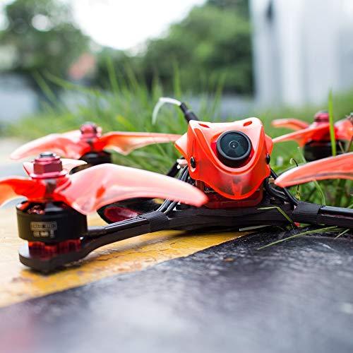 Donci Babyhawk R Pro 4 FPV Racing Drone 600TVL Cámara Drone sin escobillas con Receptor 4 en 1 ESC F4 Controlador de Vuelo BNF