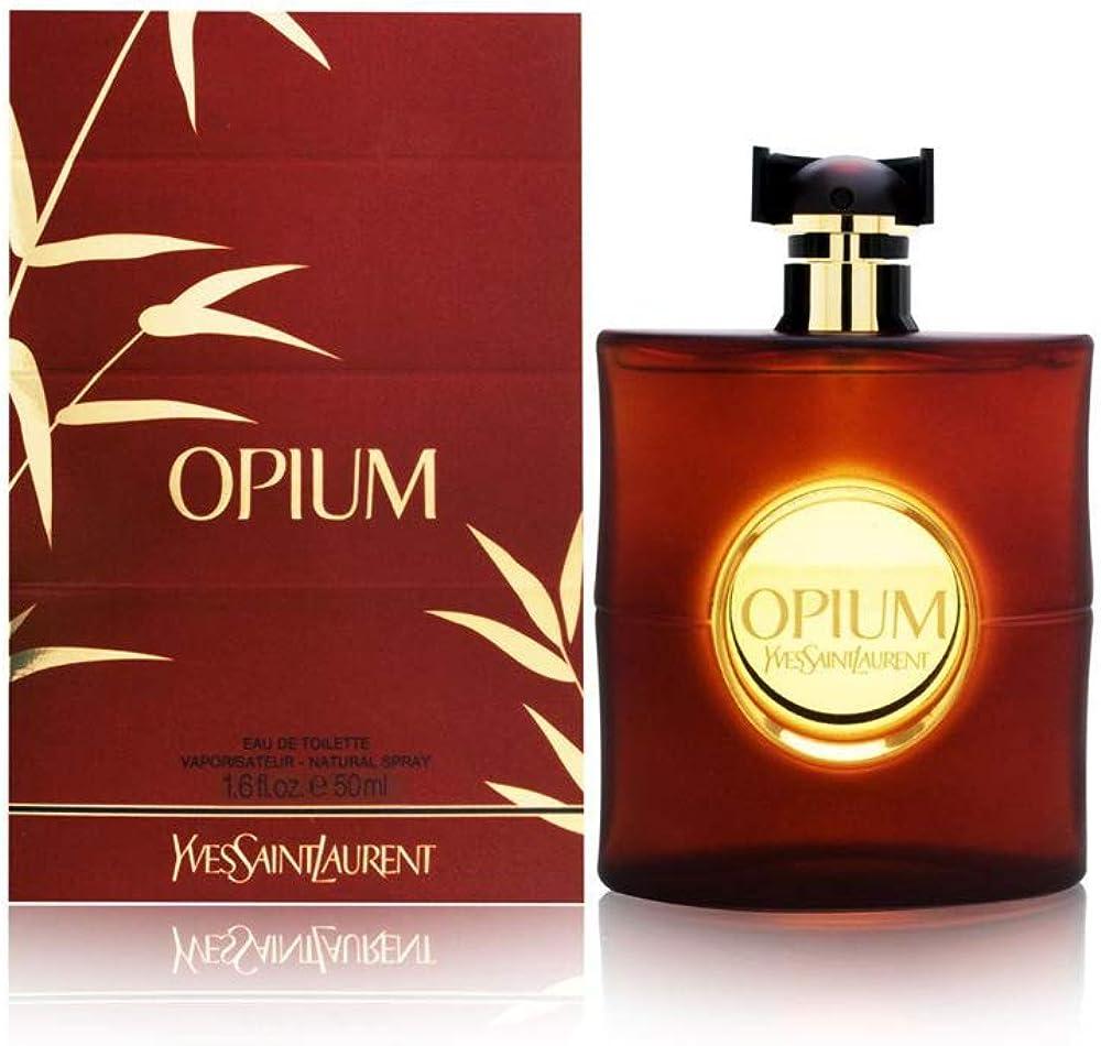 Yves saint laurent opium eau de toilette per donna, 50 ml 202225
