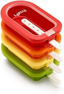 Lékué - Pack Moule à glace empilable Classic 16,5 cm, 4 pièces