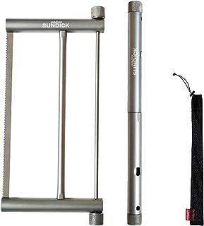Sharplace Handverktyg vikbart saw heavy duty aluminium harden hand SAH för camping ryggsäck överlevnad utomhus trädgårdsar...