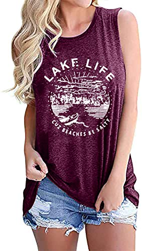 (40% OFF) Lake Life Sleeveless Tank Top $12.99 – Coupon Code