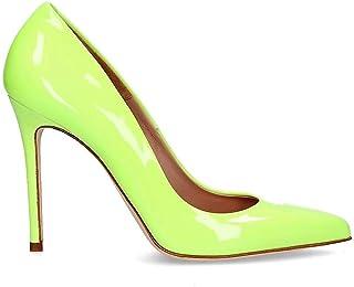 oferta de tienda Sergio Levantesi MYSSamarillo MYSSamarillo MYSSamarillo - Zapatos de Piel para Mujer, Color Amarillo  producto de calidad