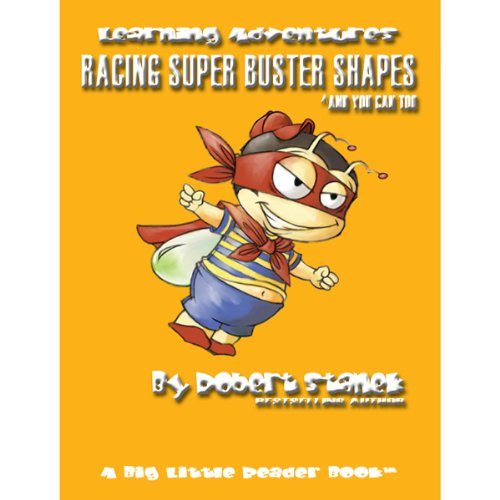 Racing Super Buster Shapes (And You Can Too) audiobook cover art