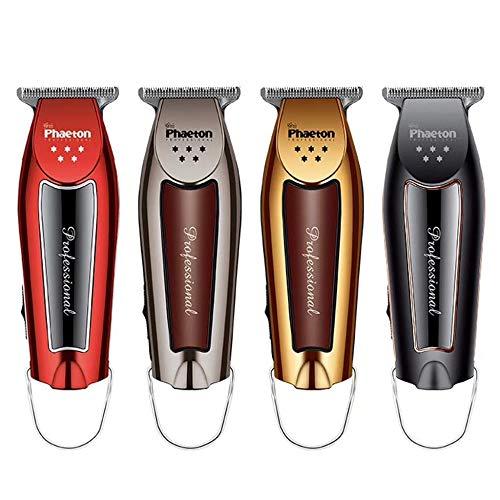 JRPT Tondeuse Barbe Rasage Facile à nettoyer,Tondeuse à Cheveux sans fil, peu encombrant, multi-sélection Commodité/argent / 4×12cm