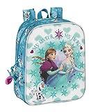 Offizieller Disney Frozen Anna und Elsa Rucksack | Lunch-Tasche | Schultertasche | Schultasche für Mädchen