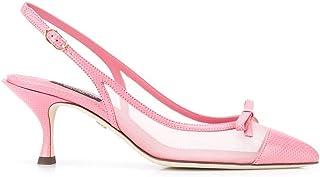 Luxury Fashion | Dolce E Gabbana Women CG0369AX0478B010 Pink Leather Heels | Spring-summer 20