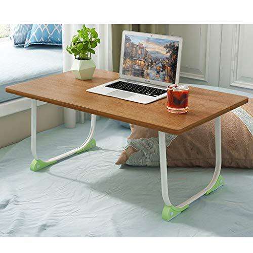 Laptop-bedtafel laptopbed tafel ontbijtdienblad met inklapbare poten draagbare laptop-staander leeshouder voor bank vloer kinderen