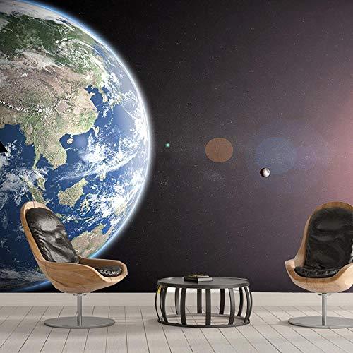 YIERLIFE Tapeten Wandtapete 3D Fotoposter Wanddeko - Sternenraum, Universum, Planet - Fototapete 3D Effekt Wandbild Tapete Deko Wohnzimmer Tapeten Deko Schlafzimmer Wandbilder Wanddeko