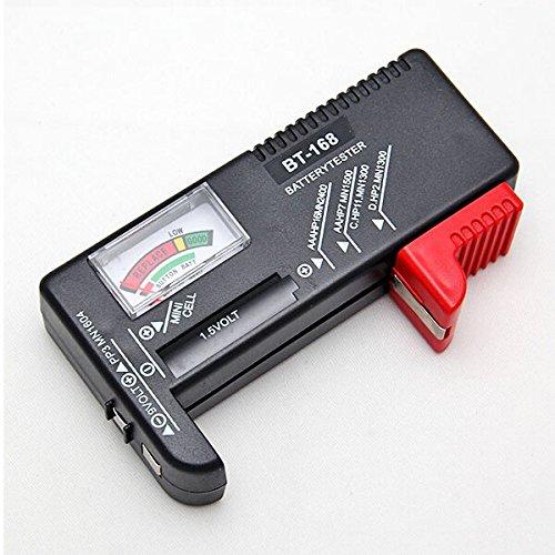 BT-168 Universal Battery Tester AA AAA C D 9V Button Checker