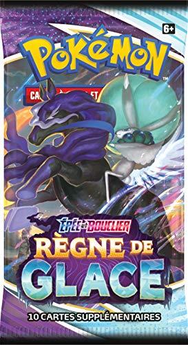Pokemon Epée et Bouclier-Règne de Glace (EB06) -Booster-Jeu de Cartes à Collectionner-Modèle aléatoire, POEB602