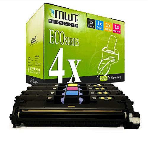 4X MWT kompatibel Toner fur HP Color Laserjet 2550 2820 2840 LN AIO L N ersetzt Q3960A 63A 122A