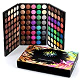 120 Colores De La Gama De Colores Mate De La Sombra De Ojos En Polvo Impermeable Pallete Natural Pigmentado Cosmética Profesional 1 Set