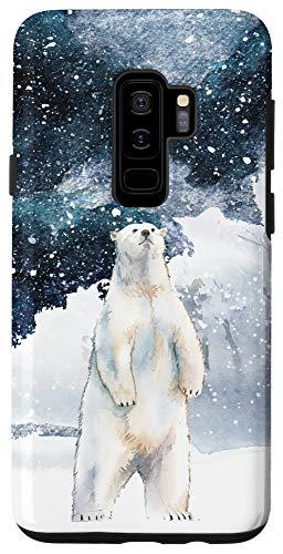 Galaxy S9+ Watercolor Polar Bear phone Case