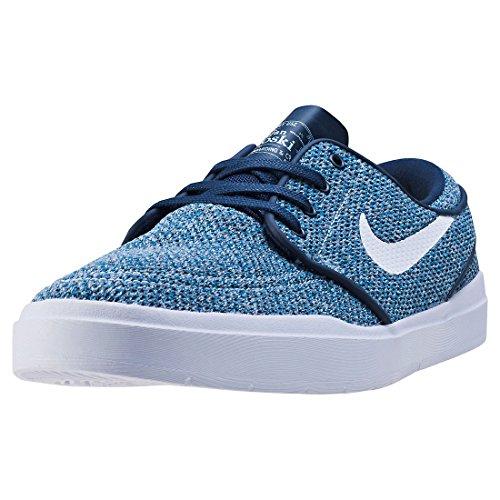 Nike SBStefan Janoski Hyperfeel - Sandali con Zeppa Uomo, Blu (Blue), 47