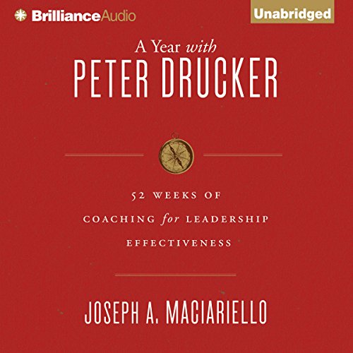A Year with Peter Drucker audiobook cover art