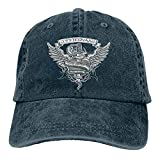 Whitesnake Band Fashion Adjustable Denim Caps Baseball Caps Hip Hop Hat Sport Hat Streetwear Black