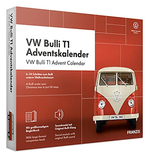 FRANZIS 67111 - VW Bulli T1 Adventskalender