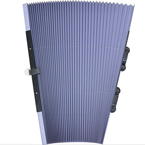 YOUANDMI Parasol Coche Universal Delantero Parasoles para Ventanas Traseras Y Delantero De Coche Se Puede Usar En Automóviles Vehículos Camiones SUV,200 * 80Cm