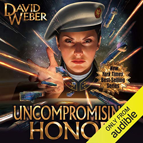 Uncompromising Honor     Honor Harrington, Book 14              By:                                                                                                                                 David Weber                               Narrated by:                                                                                                                                 Allyson Johnson                      Length: 30 hrs and 27 mins     28 ratings     Overall 4.6
