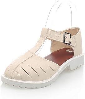 BalaMasa Womens ASL06754 Pu Fashion Sandals