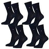 Tommy Hilfiger Kids Basic Socken 4er Pack, Größe:31-34, Farbe:Midnight Blue (563)