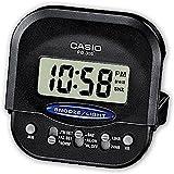 Casio Reloj Despertador Digital, Color Negro, Talla única