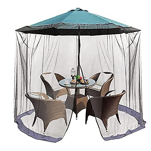 ZHANGMIN 7.5-11.5 'Cubierta de sombrilla Pantalla de Mesa Ajustable en Altura y diámetro, para Patio, Jardín, Acampar al Aire Libre, Sombrilla de Mesa Ajustable (Color : Black-A Door)