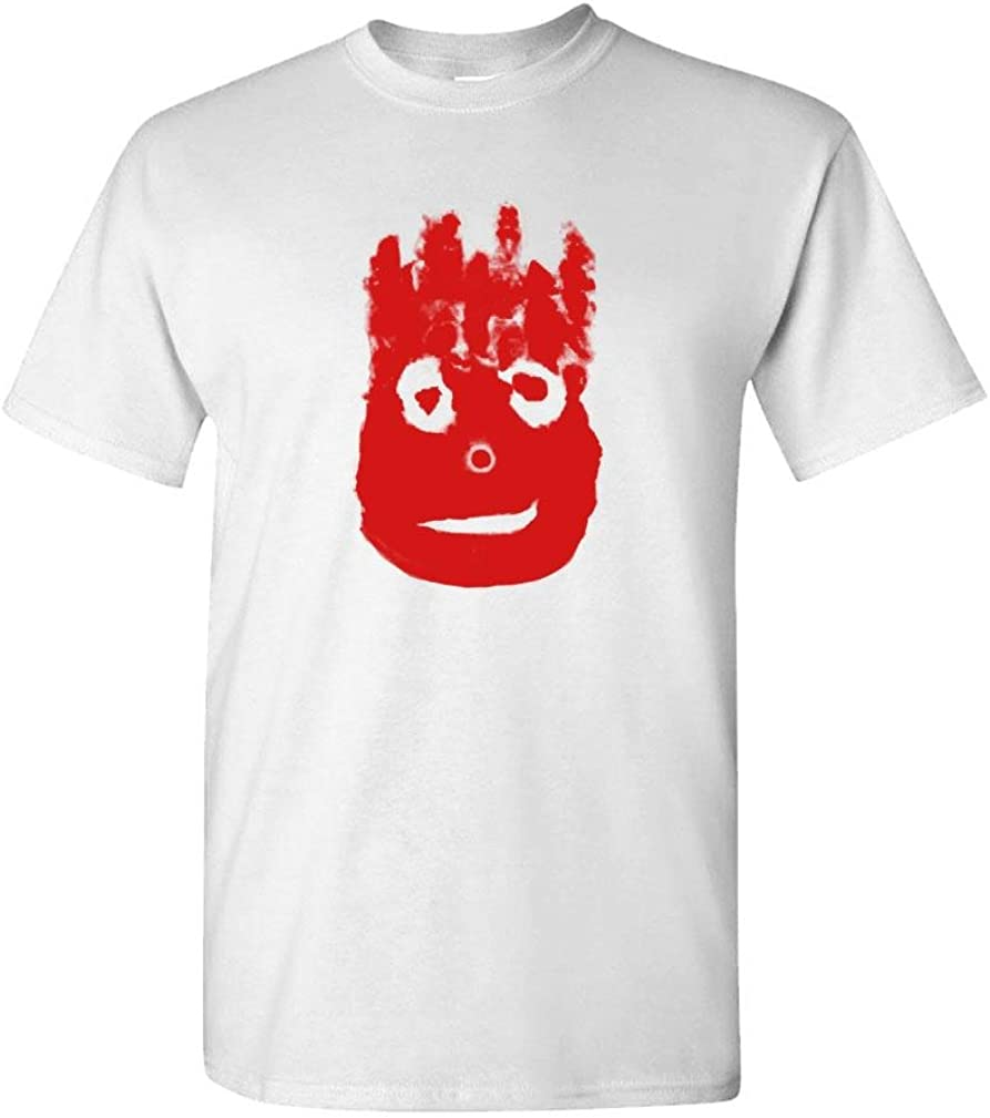 Volleyball Bloody FACE - Ocean Movie Hanks - Mens Cotton T-Shirt