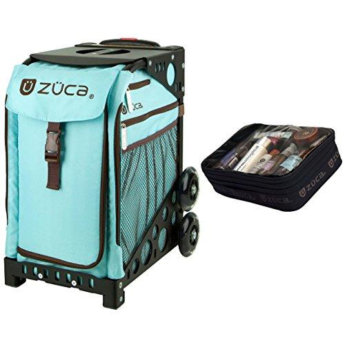 ZUCA Calypso Sport Insert Bag & Frame (Black) w/Gift Utility Pouch