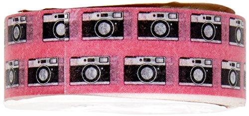 Fujifilm 84782 Washi Tape voor scrapbooking, retromotief, meerkleurig