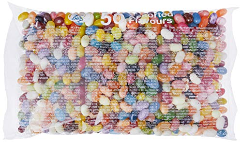 Jelly Belly, Caramelo masticable (50 sabores) - 1000 gr.
