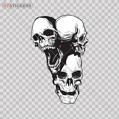 Skull Skull Skulls Sticker Car Sticker Motorbike Wall Decal 11