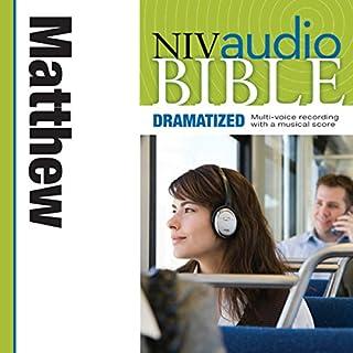 Dramatized Audio Bible - New International Version, NIV: (29) Matthew audiobook cover art