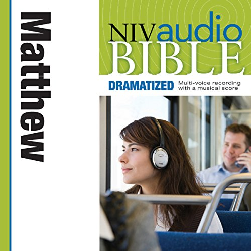 NIV Audio Bible, Dramatized: Matthew cover art