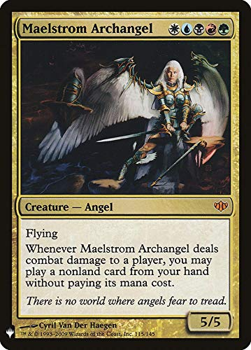 Magic: The Gathering - Maelstrom Archangel - Mystery Booster - Conflux