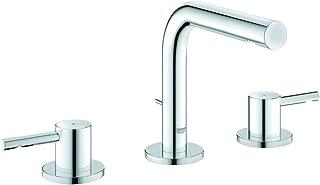 Essence 8 in. Widespread 2-Handle Low-Arc Bathroom Faucet