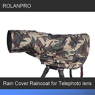 ROLANPRO Camera Camouflage Rain Cover Raincoat for Universal Tripod Shoulder Pads Camera Guns Clothing-#3 Color
