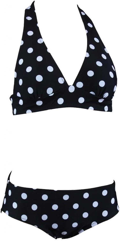 Aloha-Beachwear Neckholder Damen Bikini Retro Vintage polka dots Punkte A7025 A7025 A7025 B00OUXT6HQ  Reichhaltiges Design 06a3b7