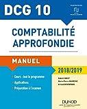 DCG 10 - Comptabilité approfondie - 9e éd. - Manuel - 2018/2019 - Manuel - 2018/2019
